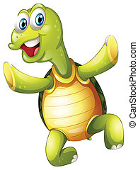 tortue, sourire