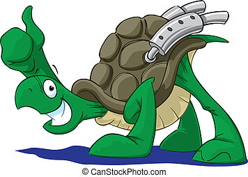 tortuga, corredor