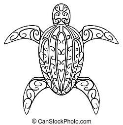 tortuga, símbolo