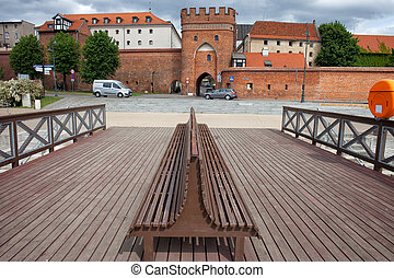 Torun Urban Scenery in Poland