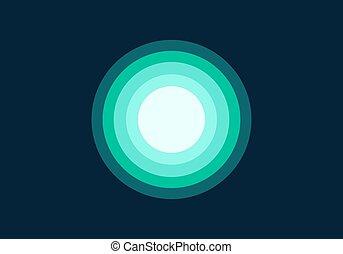 Tosca spectrum gradient color design