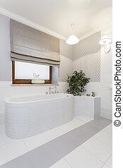 toscana, cómodo, -, baño