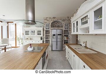 toscana, cucina, -, mobilia