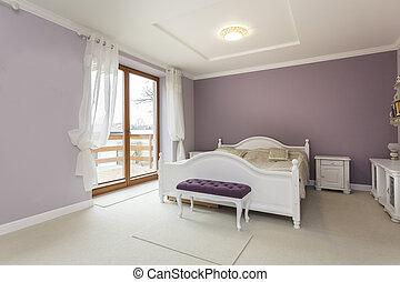toscane, -, chambre à coucher