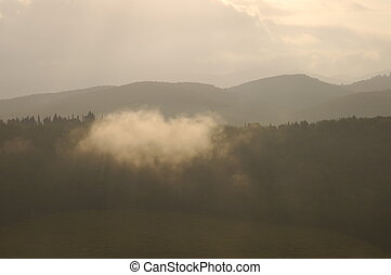 toscano, amanecer
