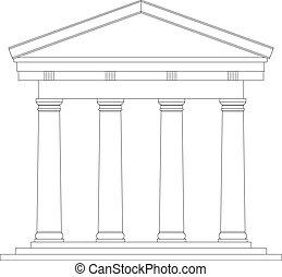 toscano, templo romano