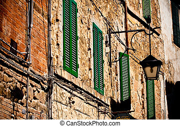 toskańczyk, historyczny, architektura