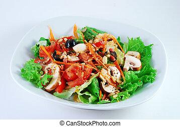 Tossed,garden salad