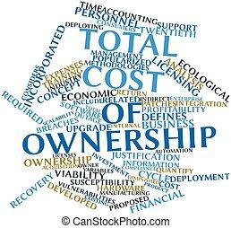 total, coste, propiedad