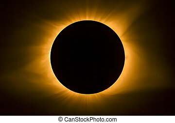 Total Eclipse Solar Corona
