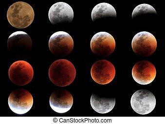 Total Lunar Eclipse: 15 June 2011