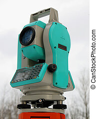 Total station - The total station. The geodetic and...