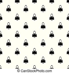 Tote bag pattern vector seamless repeating for any web...