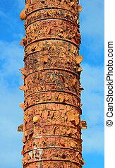 Totem in old San Juan