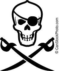 totenkopf, pirat