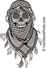 totenschädel, arabisches