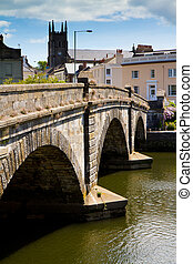 Totnes bridge in Totnes Devon