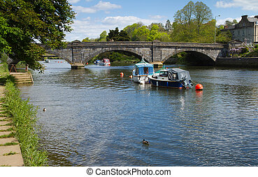 Totnes in Devon England