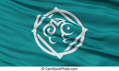 Tottori Capital City Close Up Flag - Tottori Capital City...