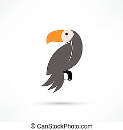 Toucan, Vector illustration of a Toucan