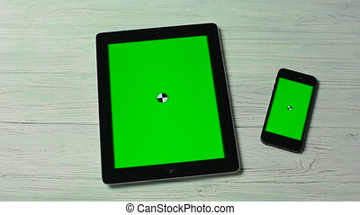 Touch Moves on Tablet Pc and Smartphone