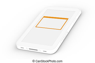 Touch Pad with open window