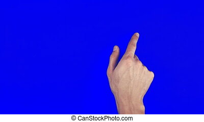 Touch Screen Finger Gestures chroma key - Touch Screen...