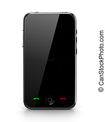 Touch screen Phone front view