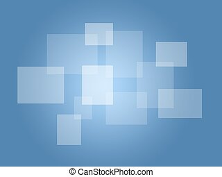 Touch Screen - A modern touch screen on a blue background