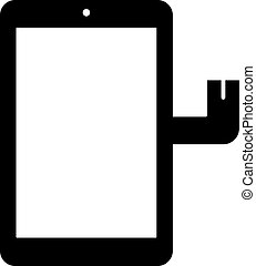 Touch screen replacement part