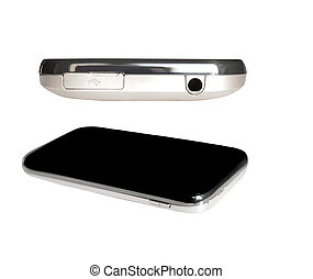 touch screen, smart phone  isolated