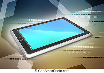 Touch screen tablet computer