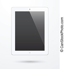touch screen tablet, replace with own messages.