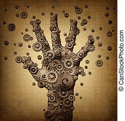 toucher, technologie