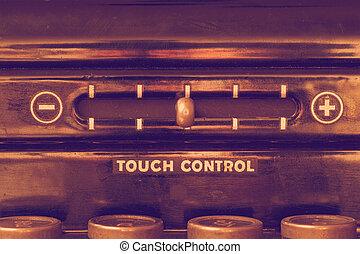 toucher, vendange, contrôle