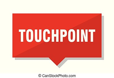 touchpoint red tag