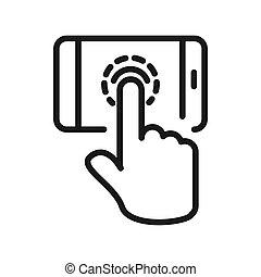 touchscreen, τεχνολογία