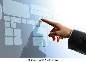 touchscreen, インターフェイス