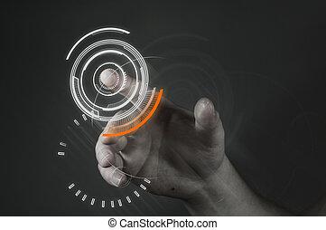 touchscreen, 技術