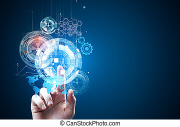 touchscreen, 未来, 技術