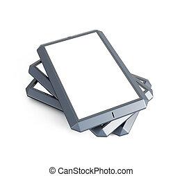 touchscreen, ensemble, moderne, smartphones