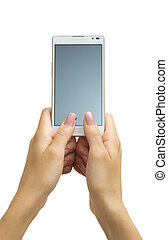 touchscreen smart phone