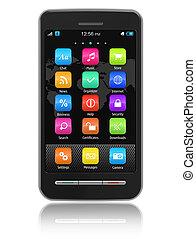 touchscreen, smartphone