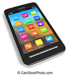 Touchscreen smartphone *** I confirm that design of this ...