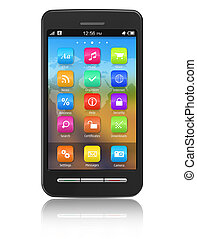 Touchscreen smartphone I confirm that design of this ...