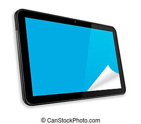 touchscreen, tablette