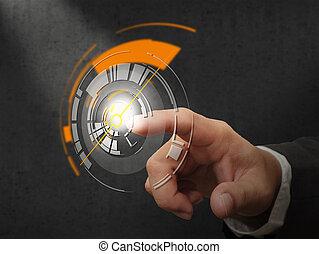 touchscreen, technológia