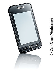 touchscreen, telefon