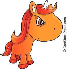 Tough Unicorn Vector Illustration Art