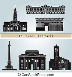 Toulose Landmarks - Toulouse landmarks and monuments...